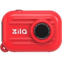 ZILA ACTION CAMERA - ROUGE