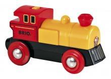 Locomotive A Pile Jaune Bi Direction