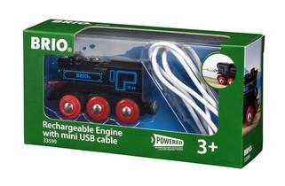 Locomotive Rechargeable Avec Mini Cable Usb