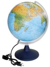 Globe Elite 30 Carte Phys/pol Pied Et Meridien Plastique