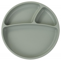 ASSIETTE PORTIONS VERT SILICONE