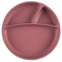 ASSIETTE PORTIONS BRUN SILICONE