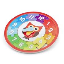 Puzzle Horloge Hibou