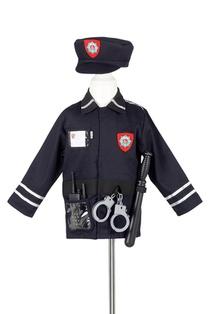 DEGUISEMENT SET POLICE + ACC 4/7ANS