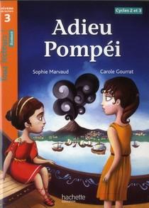 Tous Lecteurs ! ; Adieu Pompei ; Niveau 3 ; Cycles 2 Et 3 ; Livre De L'eleve