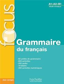 Focus ; Grammaire Du Francais