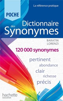 Dictionnaire Des Synonymes Poche (edition 2013)