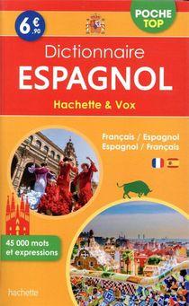 Dictionnaire Hachette & Vox Poche Top ; Francais-espagnol / Espagnol-francais