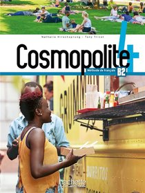 Cosmopolite 4 : Livre De L'eleve + Dvd-rom (audio, Video)