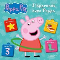 Peppa Pig ; J'apprends Avec Peppa ; Les Chiffres, Les Formes, Les Couleurs