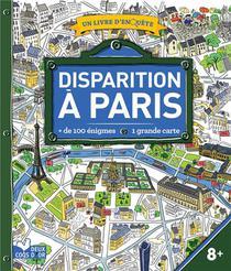Disparition A Paris ; Livre Avec Carte