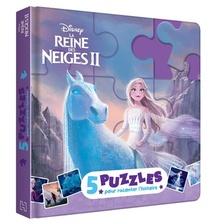 La Reine Des Neiges 2 ; Mon Petit Livre Puzzle ; 5 Puzzles Pour Raconter L'histoire