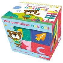 Mes Premieres Notions ; Boite Avec Cubes En Pvc Et Tout Carton