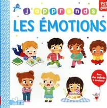 Patapon ; J'apprends Les Emotions ; Livre Avec Volets