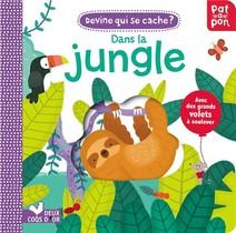 Patapon ; Devine Qui Se Cache Dans La Jungle ; Livre Avec Rabats Troues