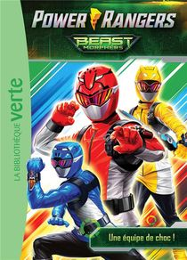 Power Rangers T.1 ; Une Equipe De Choc