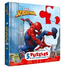 Spider-man ; 5 Puzzles Pour Raconter Des Histoires