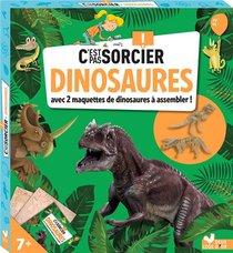 C'est Pas Sorcier Les Dinosaures ; Boite Avec Accessoires
