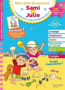 Mon Cahier De Vacances Sami Et Julie ; De La Ps A La Ms