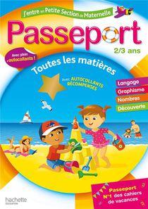 Passeport ; J'entre En Petite Section De Maternelle ; Toutes Les Matieres