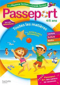 Passeport ; De La Moyenne Section A La Grande Section ; Toutes Les Matieres