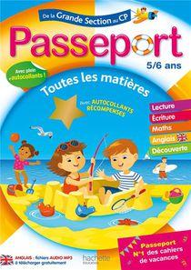 Passeport ; De La Grande Section Au Cp ; Toutes Les Matieres