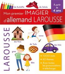 Mon Premier Imagier D'allemand Larousse