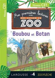 Mes Premieres Lectures Avec Une Saison Au Zoo ; Ce1 ; Boubou Et Botan