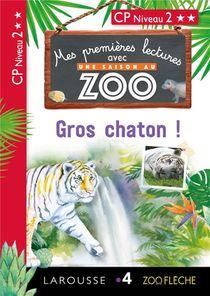 Mes Premieres Lectures Avec Une Saison Au Zoo ; Gros Chaton