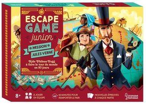 Escape Game Junior ; Maison Jules Verne ; Aide Phileas Fogg A Faire Le Tour Du Monde En 80 Jours