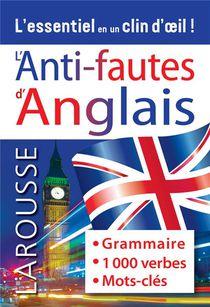 L'anti-fautes Anglais