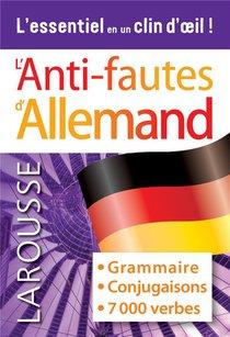 L'anti-fautes Allemand