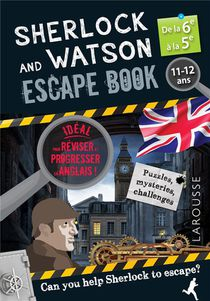 Sherlock And Watson ; Escape Book ; 6e, 5e