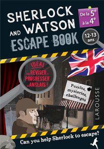 Sherlock And Watson ; Escape Book ; 5e, 4e