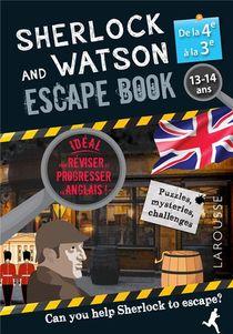 Sherlock And Watson ; Escape Book ; 4e, 3e