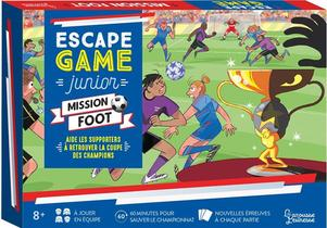 Escape Game Junior ; Mission Foot ; Aide Les Supporters A Retrouver La Coupe Des Champions