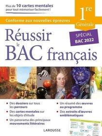 Reussir Le Bac : Francais ; 1re Generale