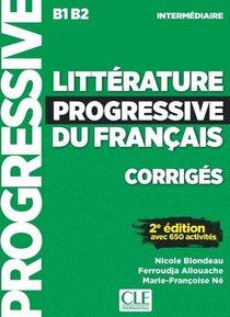 Litterature Progressive Du Francais Intermediaire Corriges 2ed (edition 2019)