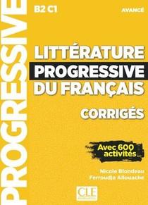 Litterature Progressive Du Francais ; Fle ; B2 C1 ; Avance (edition 2019)