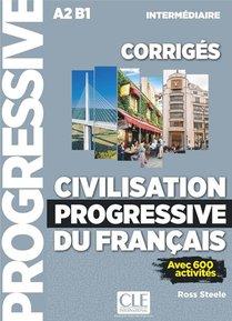 Fle ; Corriges Civilisation Progressive Du Frangais ; Niveau Intermediaire (edition 2020)