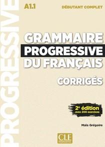 Fle ; Corriges Grammaire Progressive ; Niveau Debutant Complet ; A1.1 (2e Edition)