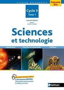 Sciences Et Technologie T.1 ; Cycle 3