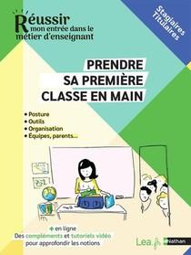 Prendre Sa Classe En Main : Stagiaires/titulaires (edition 2021)