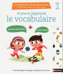 Je Joue Et J'apprends ; Le Vocabulaire ; Des 3 Ans (edition 2019)