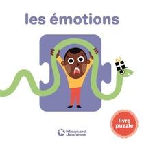 Les Emotions ; Livre Puzzle