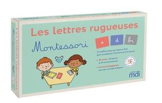 Mdi - Les Lettres Rugueuses Montessori