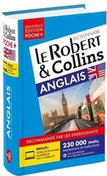 Dictionnaire Le Robert & Collins Poche+ Anglais