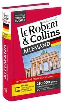 Dictionnaire Le Robert & Collins Poche+ Allemand