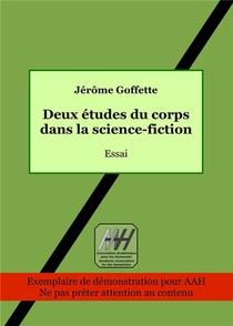 Deux Etudes Du Corps Dans La Science-fiction