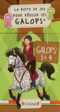La Boite A Galops ; Coffret ; Galopes 3 Et 4